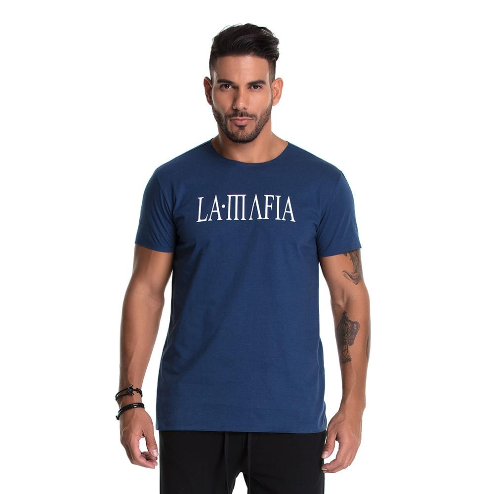 0fb85e750 Camiseta La Mafia Classic Blue - Lamafia