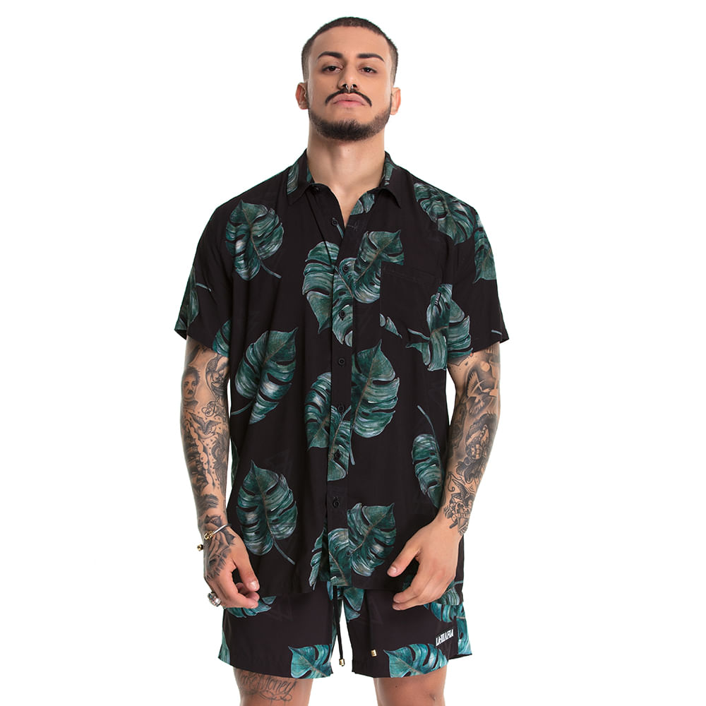 Camisa-Resort-Plants