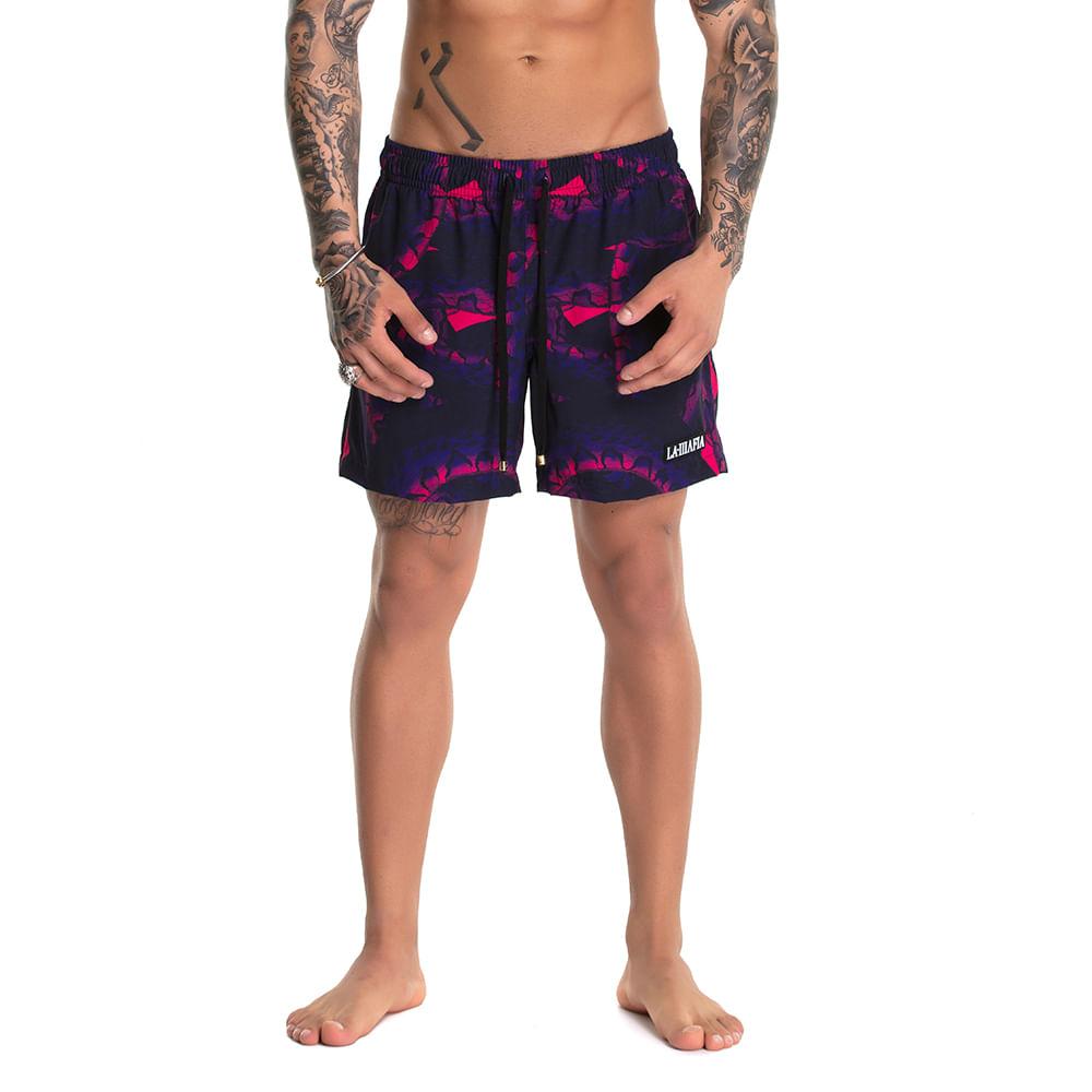 Bermuda-Beachwear-Snake-Purple