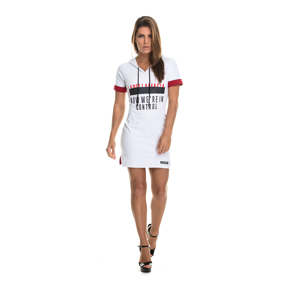 Vestido-We-re-in-Control-Own-Rules-White