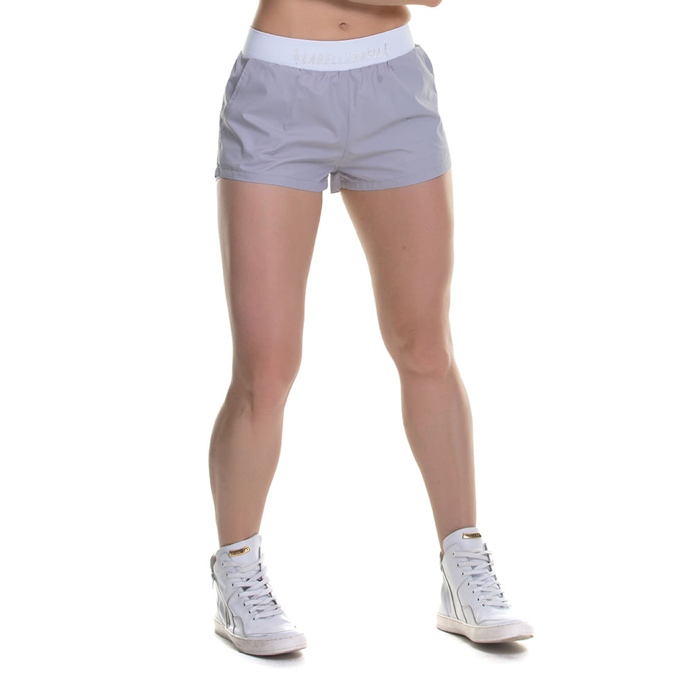 Shorts-Feminino-Bolt-Light-Gray---P