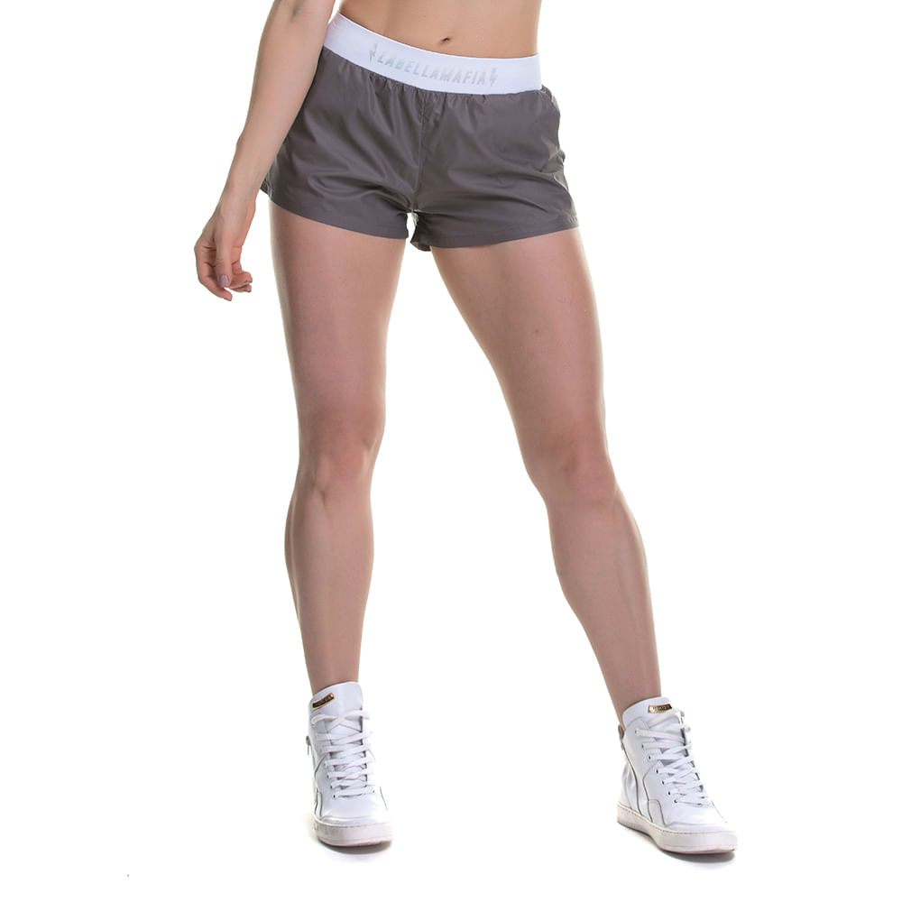 Shorts-Feminino-Bolt-Dark-Gray---M