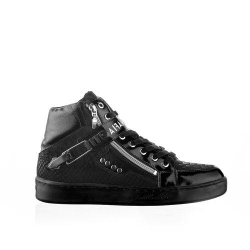 Sneaker-Crocodile-Black