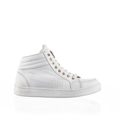 Sneaker-Labellamafia-Leather-White