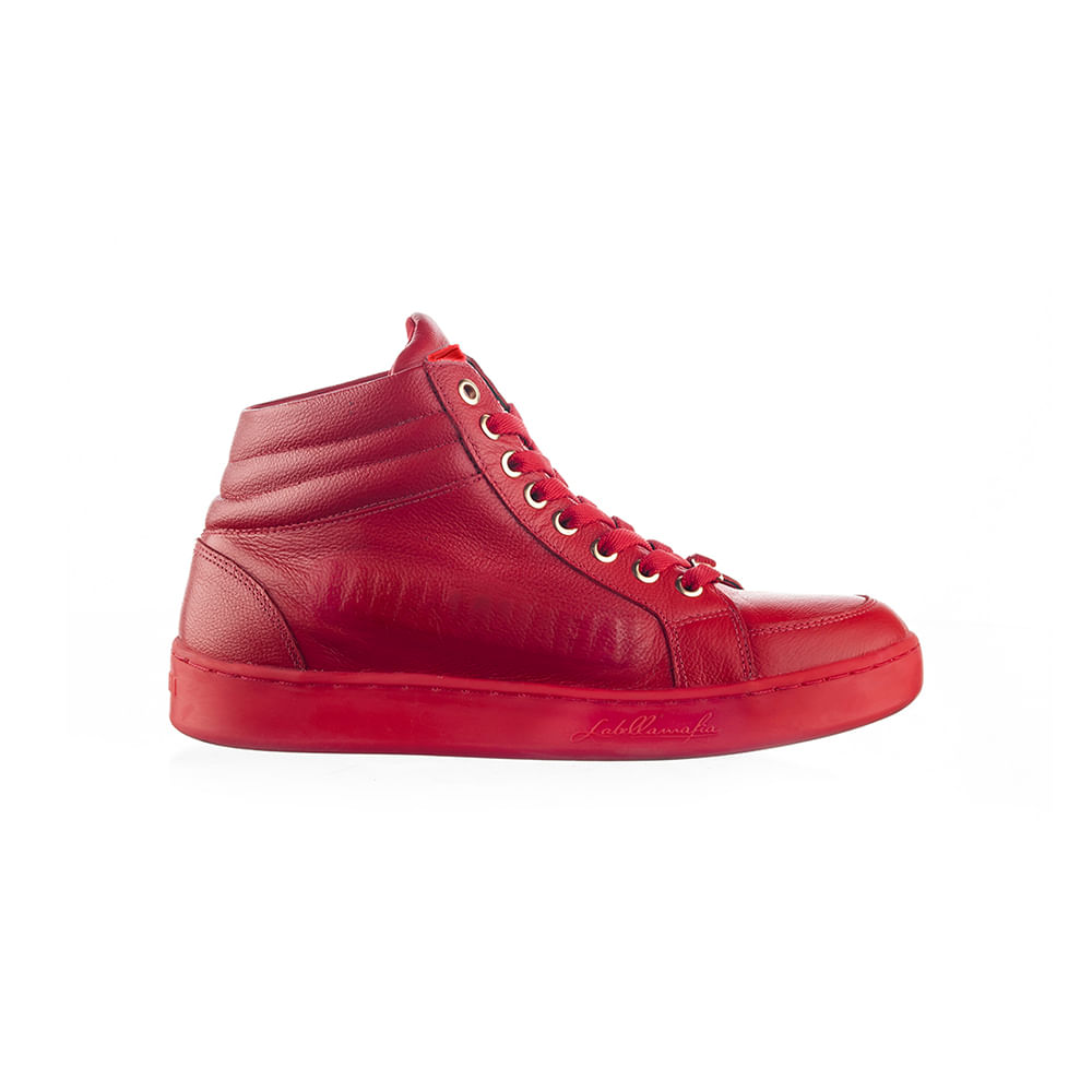 Sneaker-Labellamafia-Leather-Red-
