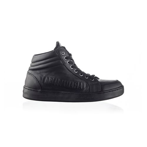 Sneaker-Labellamafia-Leather-Black