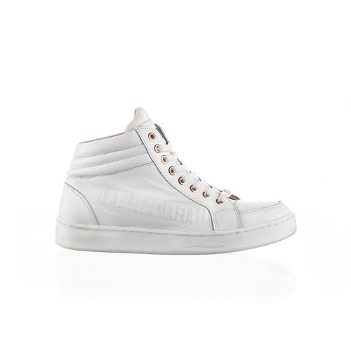 Sneaker-Labellamafia-Leather-White