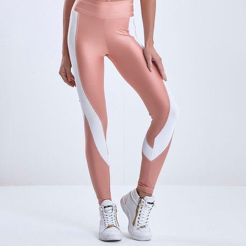 Calca-Legging-Feminina-Sirene-Glossy-Salmon