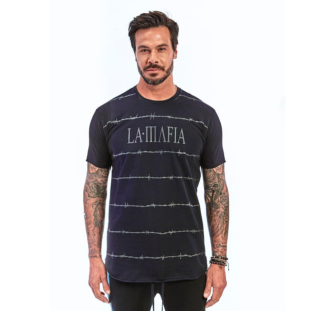 Camiseta-La-Mafia-Night-Barbed-Wire---P