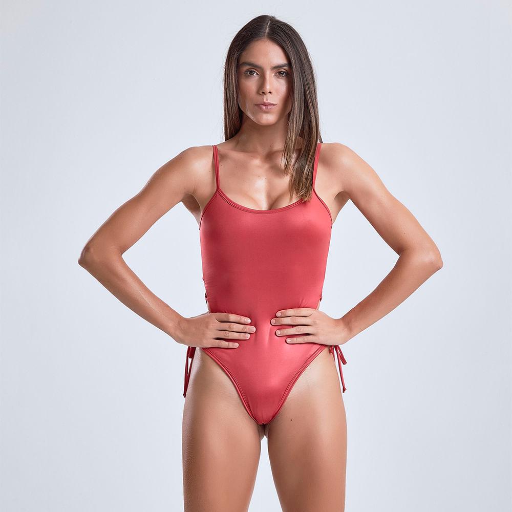 Body-Feminino-Tie-Red-