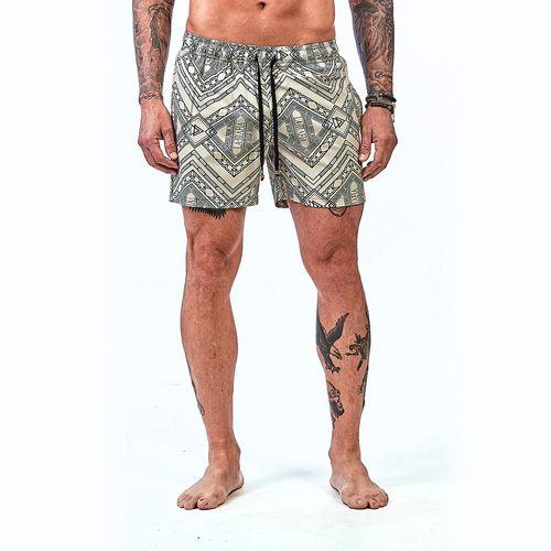 Bermuda-La-Mafia-Beachwear-Tropical-Street-Runes---P