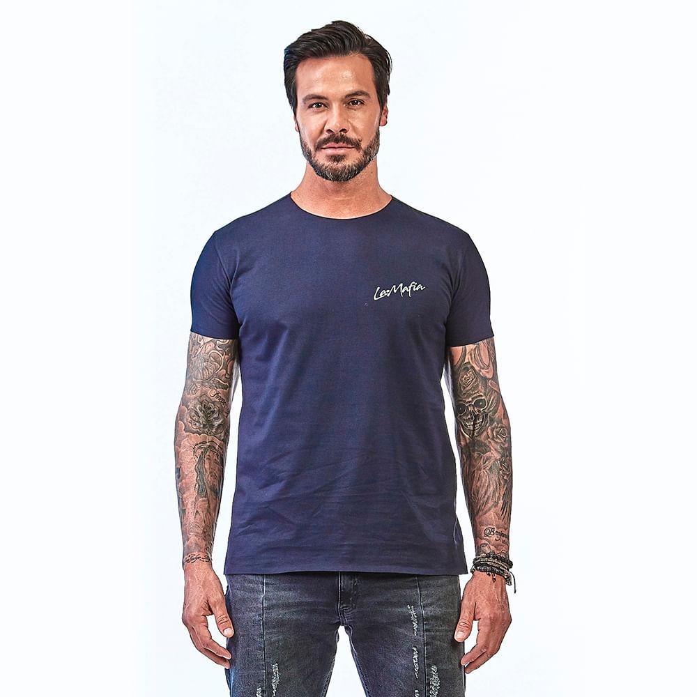 Camiseta-La-Mafia-Essentials-Dark-Blue---P