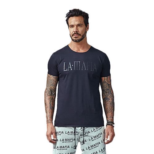 Camiseta-La-Mafia-Essentials-All-Black-