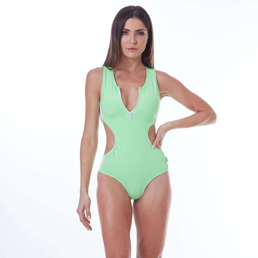 Body-Feminino-Neon-Zipper-Green