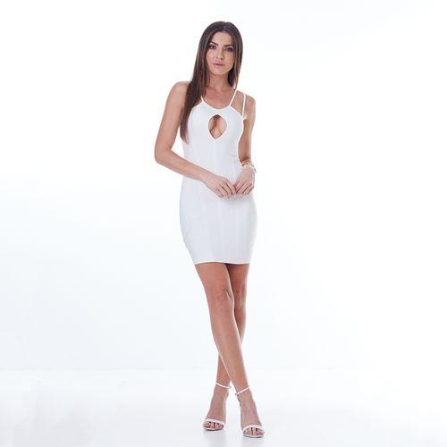 Vestido-Labellamafia-Off-White-Gold-Detail