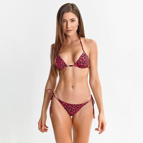Biquini-Animal-Print-Red