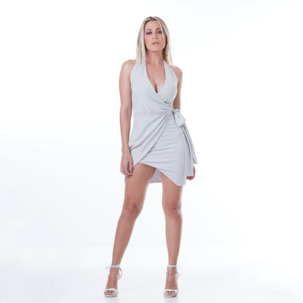 Vestido-Labellamafia-Metallic-Silver-