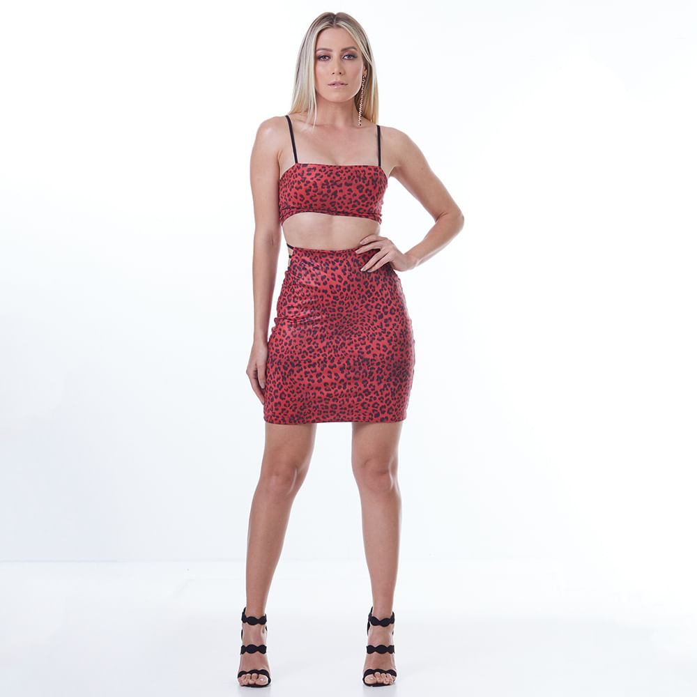 Conjunto-Labellamafia-Animal-Printed-Red---P