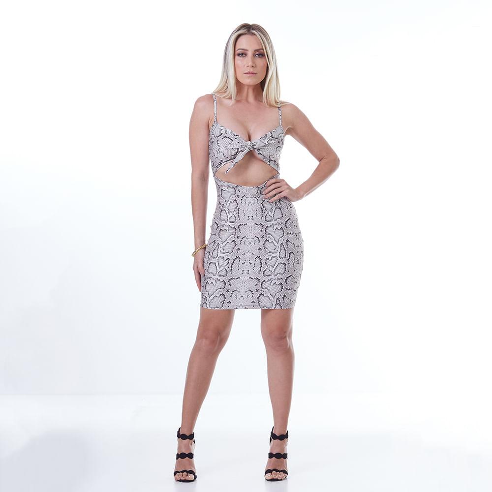 Vestido-Labellamafia-Animal-Printed-White