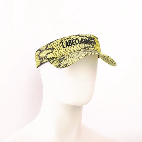 Viseira-Animal-Print-Yellow