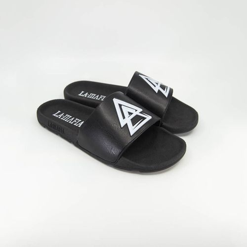 Chinelo-Slide-La-Mafia-Triangle-Black---38