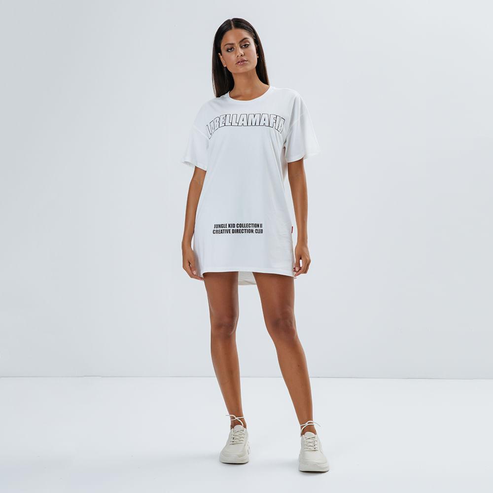 T-Dress-Feminina-Jungle-Kid-Off-White-
