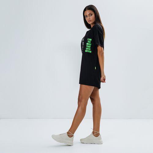T-Dress-Feminina-Jungle-Kid-Black