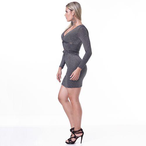 Vestido-Labellamafia-Metallic-Lux
