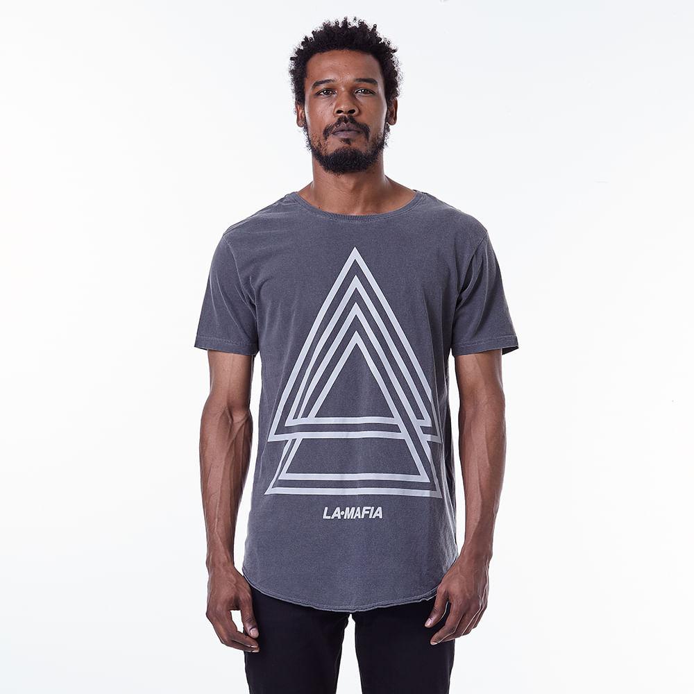 Camiseta-La-Mafia-Graphic-Tees-Triangles---P