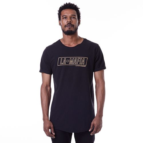 Camiseta-La-Mafia-Graphic-Tees-Golden---P