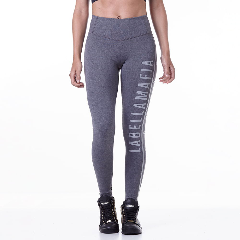 Legging-Feminina-Essentials-Gray