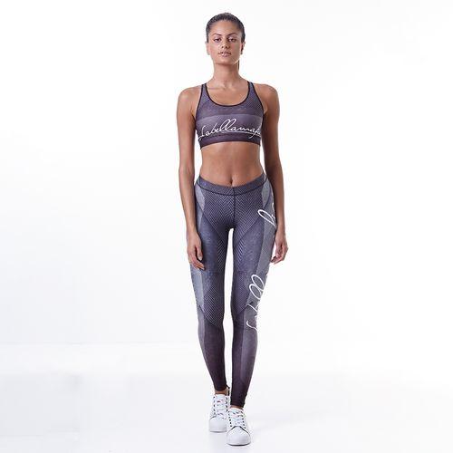 Conjunto Fitness Feminino Printed Sets Steel 4bcdc42fcb7