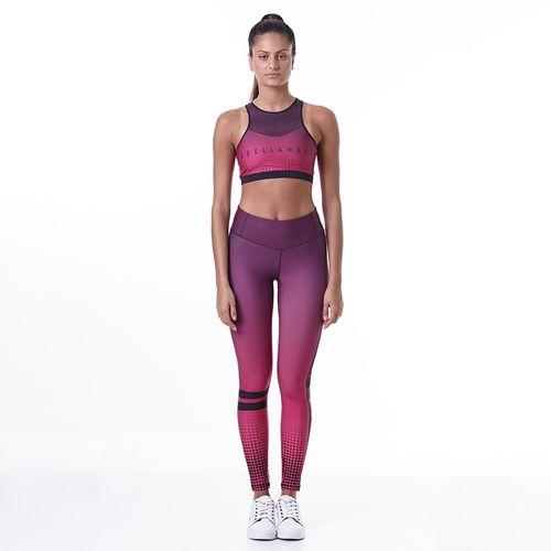 576e9a6a9 Conjunto Fitness Feminino Printed Sets Faded