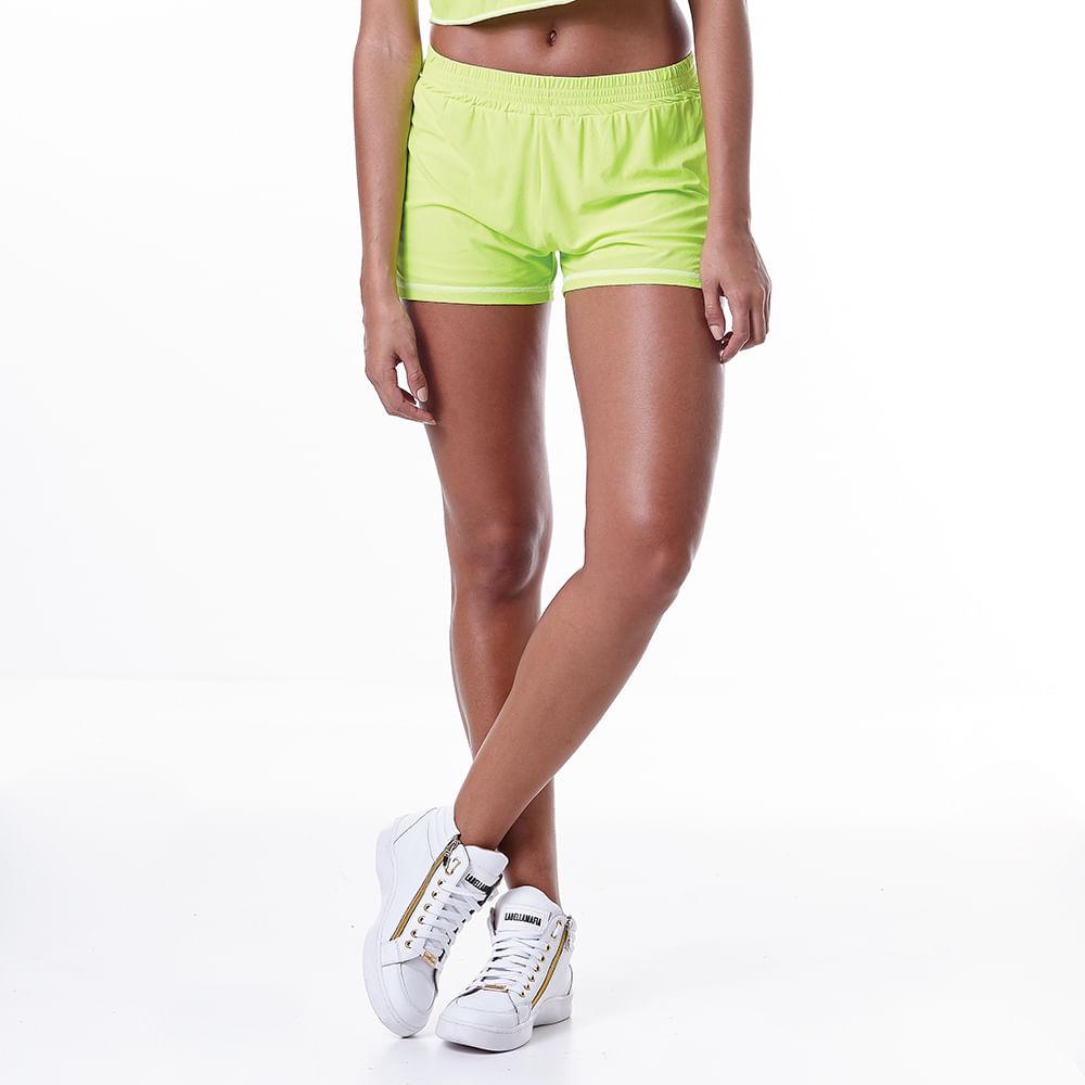 Shorts-Feminino-Neon-Lemon---P