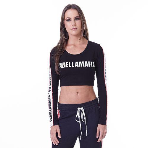54f584a21 Blusa Cropped Feminina Power Pop Labellamafia