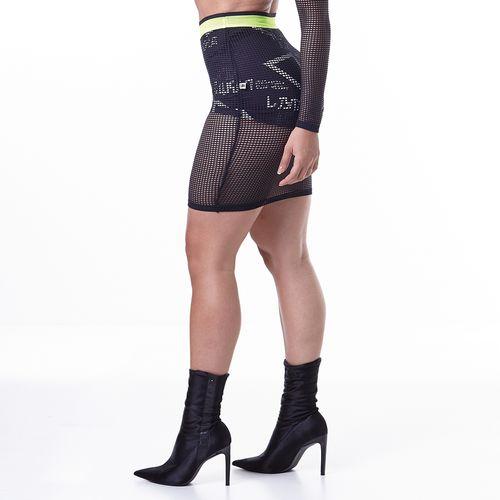 Shorts-Feminino-Neon-Smash-Into-Everyone-Black