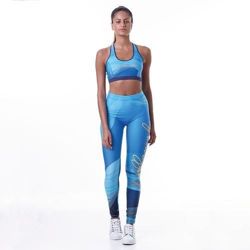 1db0c47984a8e Conjunto Fitness Feminino Printed Sets Sky