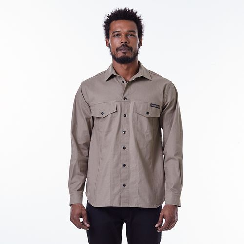 Camisa-La-Mafia-Graphic-Tee-Brown---P