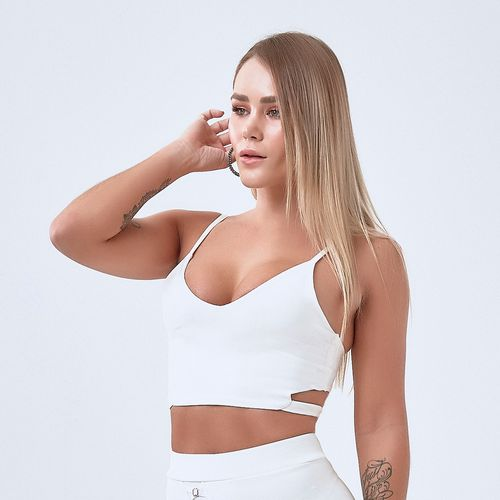 Top-Feminino-Labellamafia-Miss-Robot-All-White---P