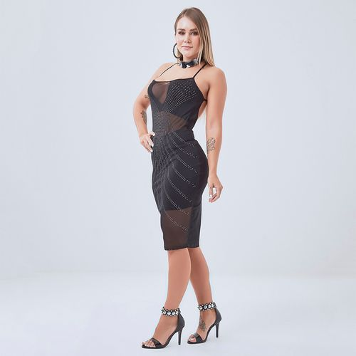 Vestido-Labellamafia-Warrior-Black-Lux---P
