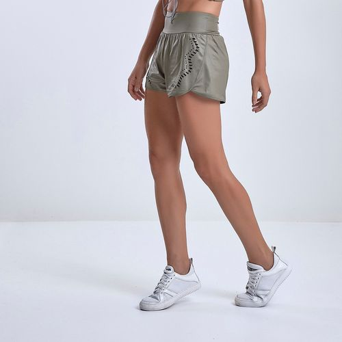 Shorts-Feminino-Labellamafia-Green-Army----P