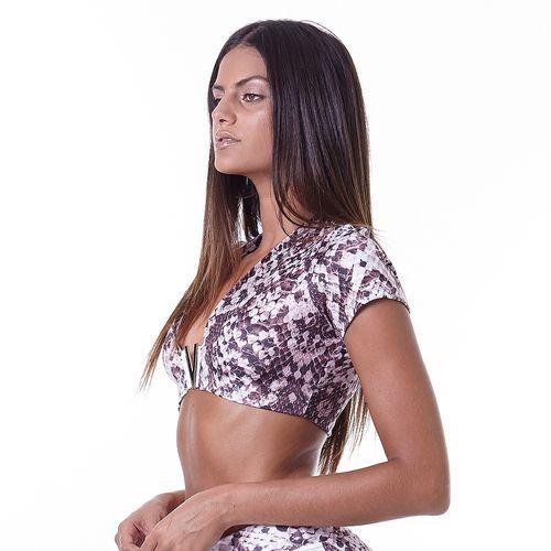 Blusa-Cropped-Feminina-Animal-Print-Python-