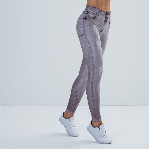 Calca-Legging-Feminina-Printed-Jeans-Gray-
