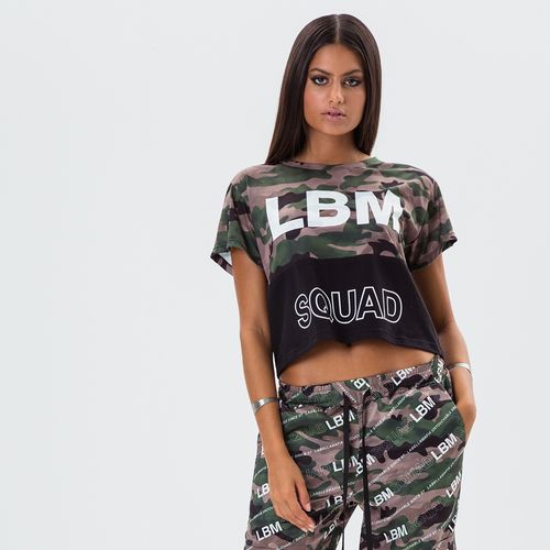 Blusa Cropped Feminina Squad - P