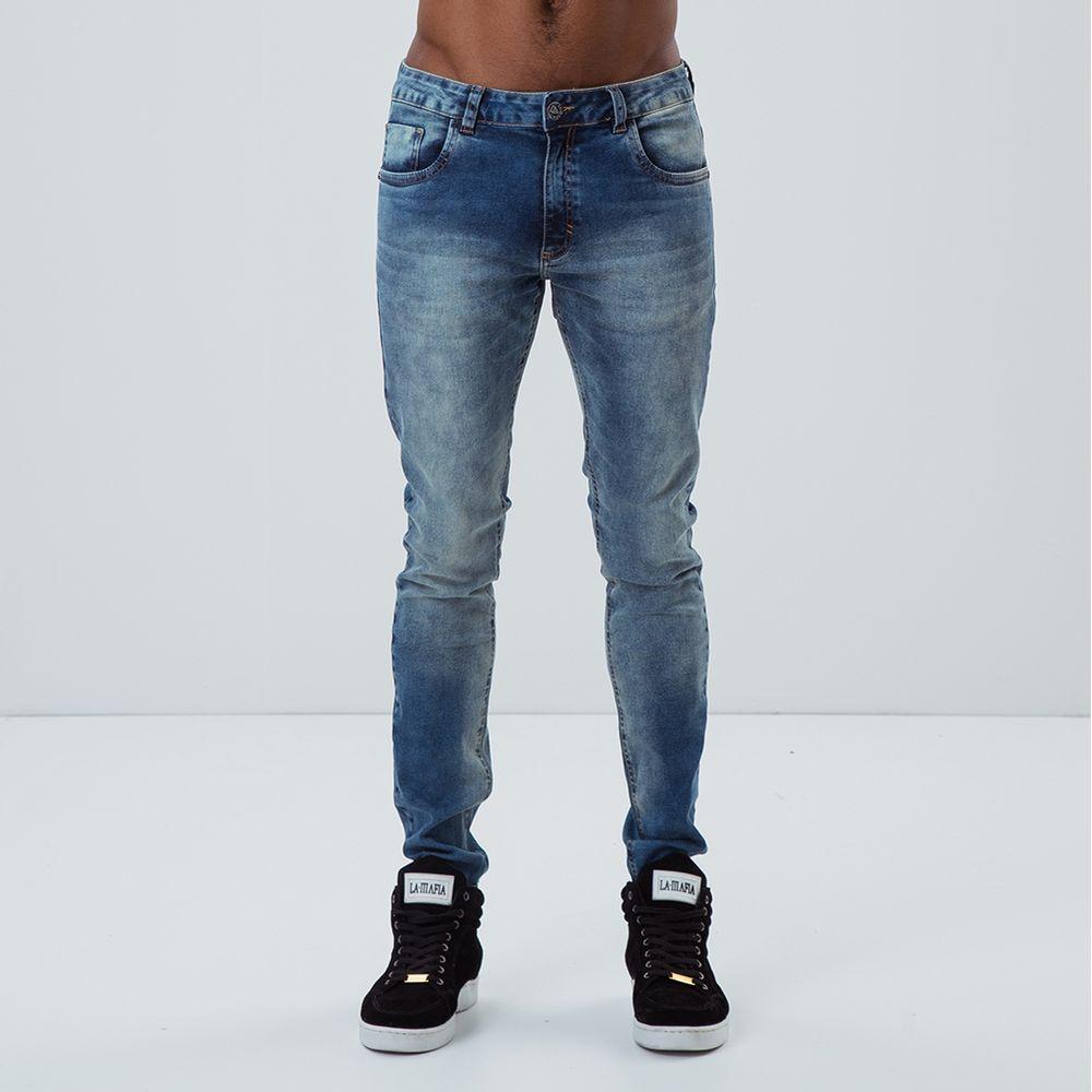 3aa62e64e Calça Jeans La Mafia Crew - Lamafia
