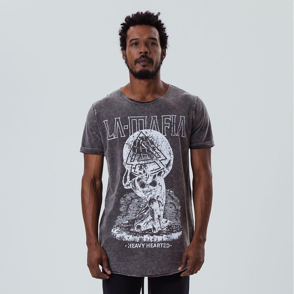 f553c028f Camiseta La Mafia Tess Heavy Heart - Labellamafia