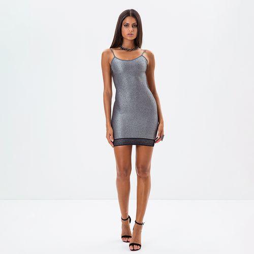 Vestido-Metallic-Classic