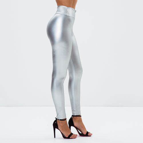 Calca-Feminina-Metallic-Silver