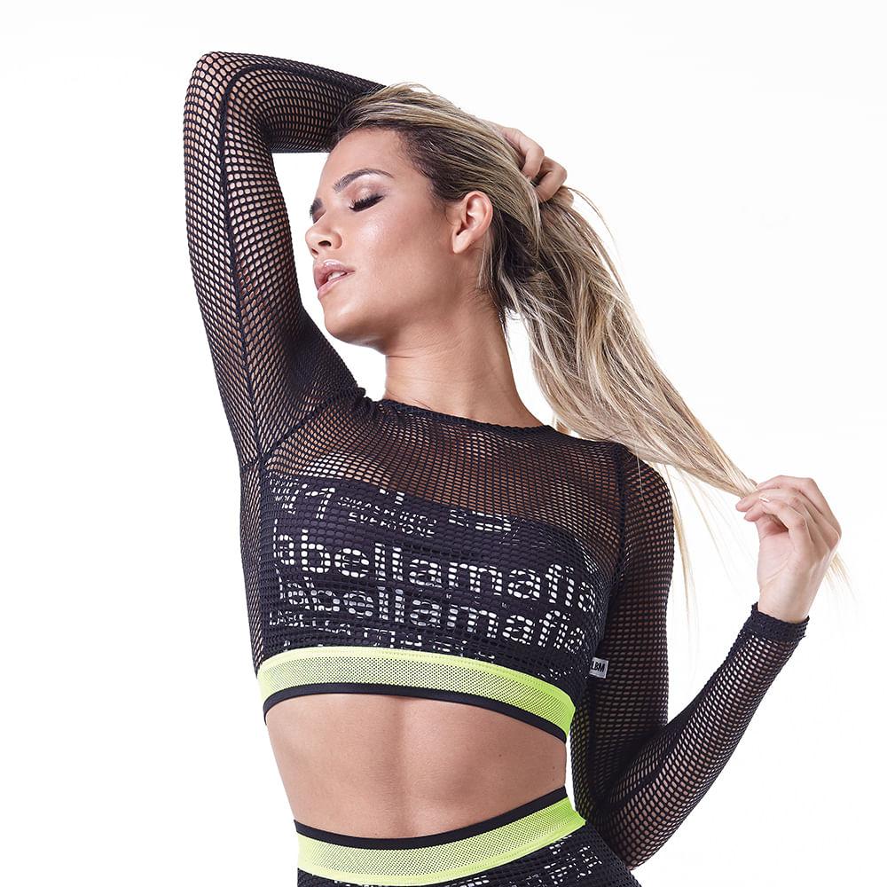 Top-Feminino-Labellamafia-Neon-Black---P