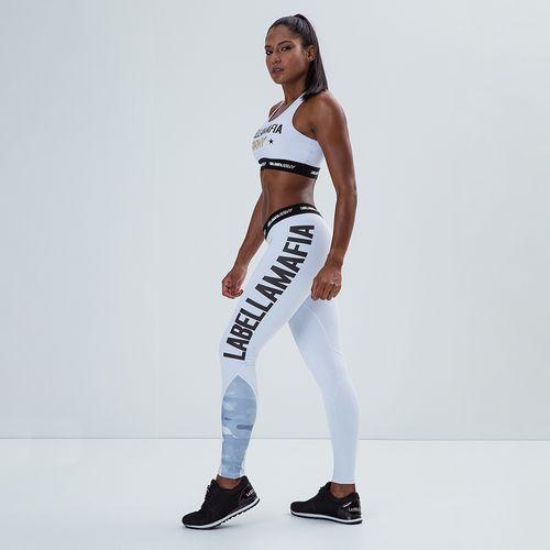 f70267e0a Conjunto Fitness Feminino LBM Army - Labellamafia